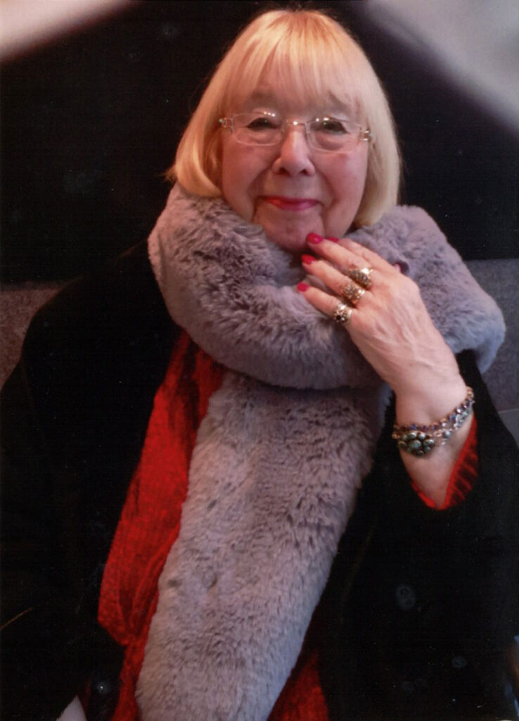 Nana Cooper, author of the Ben and Sam-Puss stories